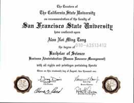 美国龙8娱乐最新网址学位证书